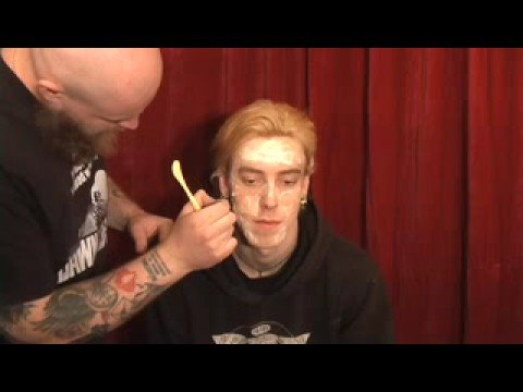 Zombie Makeup Part-2, How To Get That Rotting Flesh Look