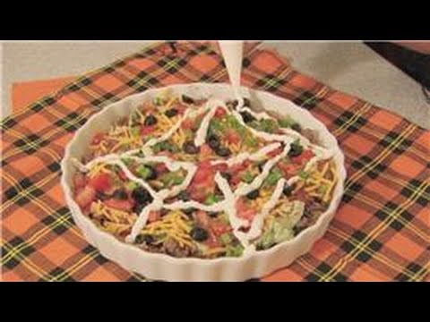 Delicious Halloween Recipe: How To Make 7-Layer Party Dip