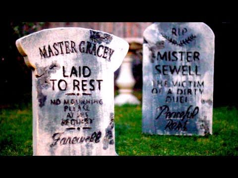 How To Make Tombstones For Halloween: DIY Video Tutorial