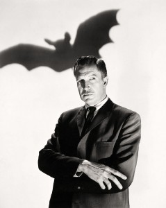 Vincent Price famous horror movie star